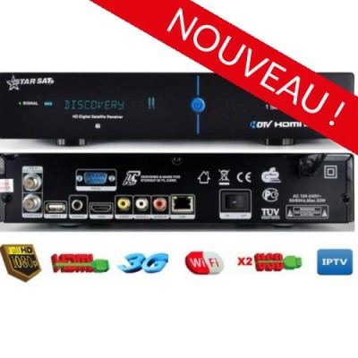 acheter starsat 2000hd hyper wifi server 15 mois iptv d bloqu gratuitement les cha ne. Black Bedroom Furniture Sets. Home Design Ideas