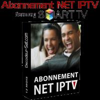 ABONNEMENT NET IPTV POUR SAMSUNG SMART TV 12 MOIS