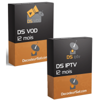 PACK ABONNEMENTS DS IPTV & DS VOD