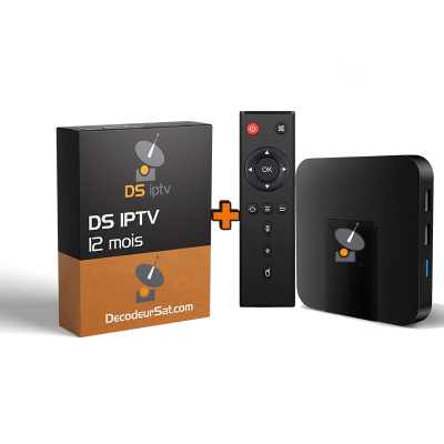 Silver Pack Android Tv Box + DS IPTV
