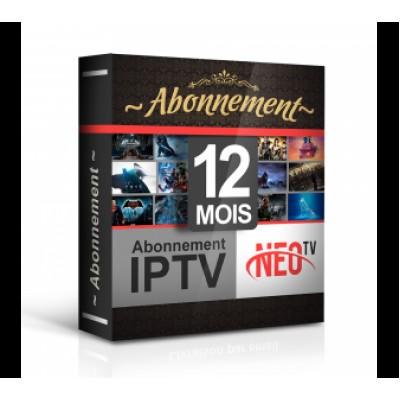 RENOUVELLEMENT ABONNEMENT iPTV SERVEUR DÉCODEUR POUR TOUS LES MODÈLES Starsat Géant Cristor 12 MOIS
