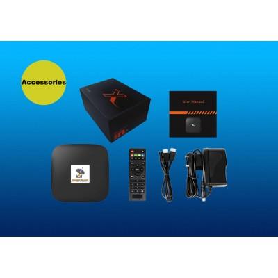 MEGA Pack Android Tv Box + ATLAS PRO IPTV + GOLD VOD