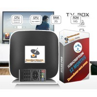 Silver Pack Android Tv Box + ATLAS PRO IPTV