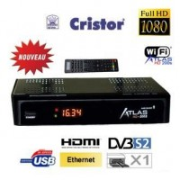 Cristor atlas hd 200s + abonnement satellite illimite