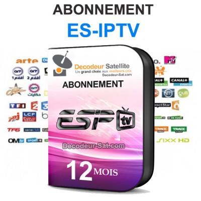 ABONNEMENT ES-IPTV