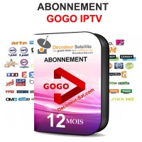 ABONNEMENT 12 MOIS GoGo IPTV