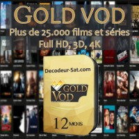 ABONNEMENT GOLD VOD / START MOVIES