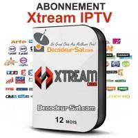 ABONNEMENT 12 MOIS Xtream IPTV