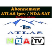 ABONNEMENT ATLAS IPTV / NDA-SAT