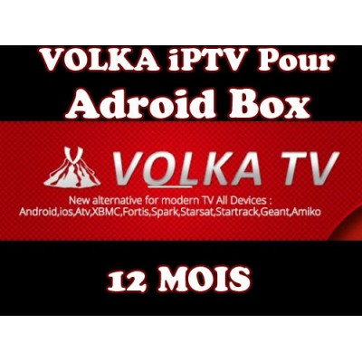 ABONNEMENT VolkaTV iPTV Android box