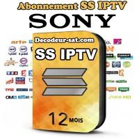 ABONNEMENT SS iPTV POUR SONY SMART TV 12 MOIS
