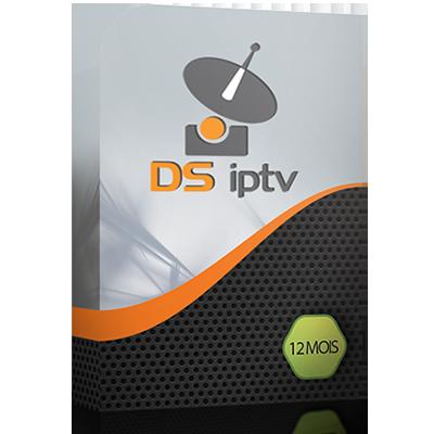 ABONNEMENT DS IPTV 12 MOIS