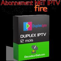 ABONNEMENT DUPLEX IPTV POUR Amazon fire tv stick 12 MOIS