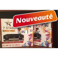 7STAR 8080HD 13 mois decodeur WIFI server