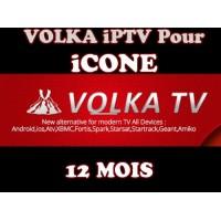 ABONNEMENT VolkaTV iPTV POUR TOUS LES MODÈLES iCONE