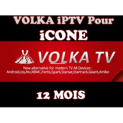 abonnement volkatv iptv pour tous les mod les icone recepteurs iptv cccam gshare. Black Bedroom Furniture Sets. Home Design Ideas