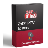 ABONNEMENT 247 IPTV PLAYER 12 MOIS
