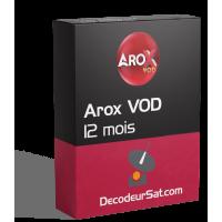 ABONNEMENT AROX VOD