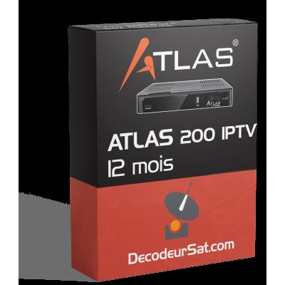 ABONNEMENT IPTV ATLAS 200s