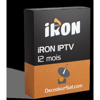 ABONNEMENT IRON IPTV