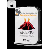 ABONNEMENT VolkaTV iPTV pour iPhone