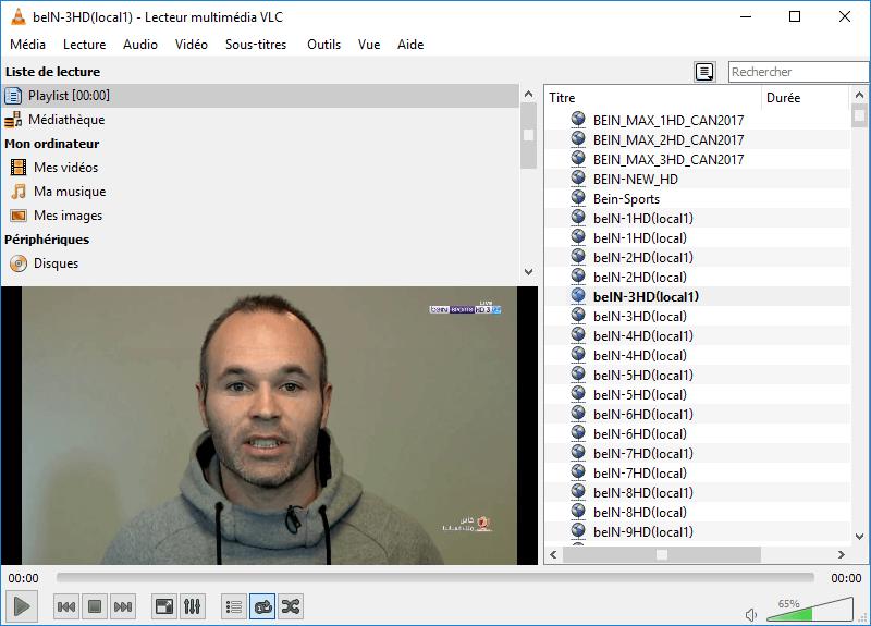 Totalement gratuit et ne nécessitant d'aucune inscription, TV 3L PC permet de récupérer des chaines sur les différents serveurs IP, on y trouve même des chaines cryptées telles que les chaines Canal +, Canalsat et BeIN Sport et RMC et les chaines arabe.